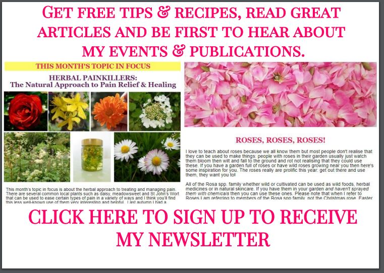 Newsletter sign up graphic jpg for home page. with border
